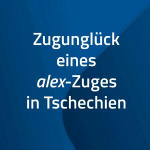 Zugunglück eines alex-Zuges in Tschechien