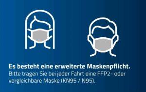 Maskenpflicht FFP2 oder KN95/N95