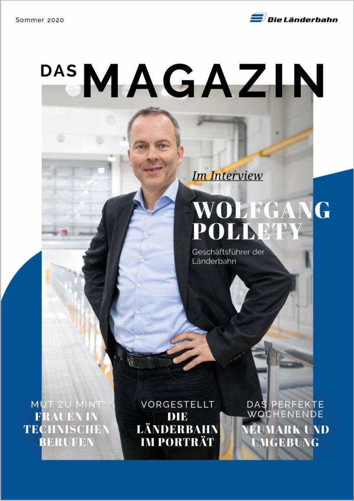 Länderbahn-Kundenmagazin - Ausgabe Sommer 2020 (Art.-Nr. 34-71310)