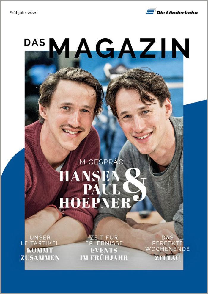 Länderbahn-Kundenmagazin - Ausgabe Frühjahr 2020 (Art.-Nr. 34-66166)