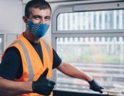 Reinigung im Zug