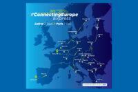 Länderbahn fährt den Connecting Europe Express
