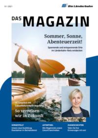 Neue Ausgabe des Länderbahn Kundenmagazins