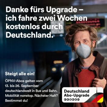 Das Deutschland Abo-Upgrade