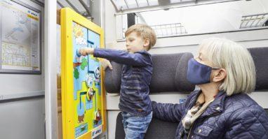 Kinderspielecke im alex