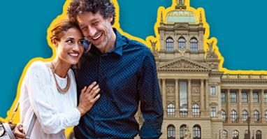 Paar das Sehenswürdigkeiten, Kunst und Kultur in Prag entdeckt