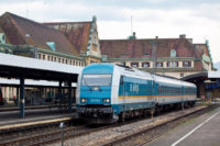 Lok des Alex Zugs der spontane Reisen nach Prag ermöglicht
