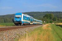 alex Reisezug der schnell und bequem direkt nach Prag fährt