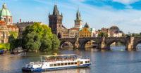 Boottour auf der Moldau in Prag