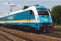 Die E-Lok des alex - unterwegs zwischen Regensburg und München