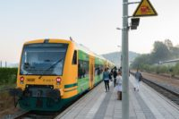 Waldbahn nach Viechtach Bahnhof Gotteszell