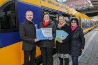 Länderbahn unterstützt Traumzeit e.V. mit Spende