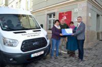 Vogtlandbahn unterstützt Reichenbacher Tafel-Verein mit Spende