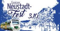 Zusätzliche Züge zum Greizer Neustadtfest am 3. Oktober