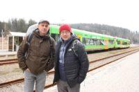 """Dreharbeiten für """"Bezzel & Schwarz - Die Grenzgänger"""" in der waldbahn"""