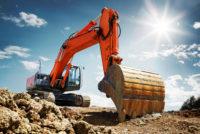 Baustellen-Abschlussparty mit XXL-Sandhaufen