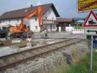 Umbauarbeiten zur Wiederaufnahme Gotteszell-Viechtach beginnen an den Bahnhöfen