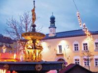Mit der waldbahn zum Weihnachtsmarkt in Vejda