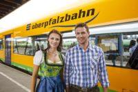 Mit dem Zug zum Pfingstfest in Bad Kötzting