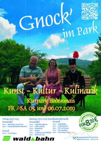 """Mit der waldbahn zum """"Gnock` im Park"""" nach Bodenmais"""