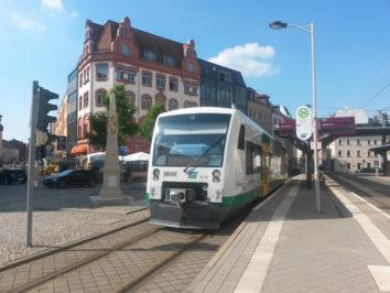 Zusätzliche Züge zum Zwickauer Stadtfest zwischen Zwickau und Plauen sowie Zwickau und Falkenstein