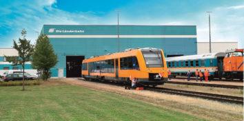 Die Länderbahn öffnet ihre Werk-Tore –