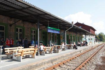 An meinem Bahnhof gefällt es mir!