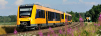 Die Oberpfalzbahn im Naabtal unterwegs