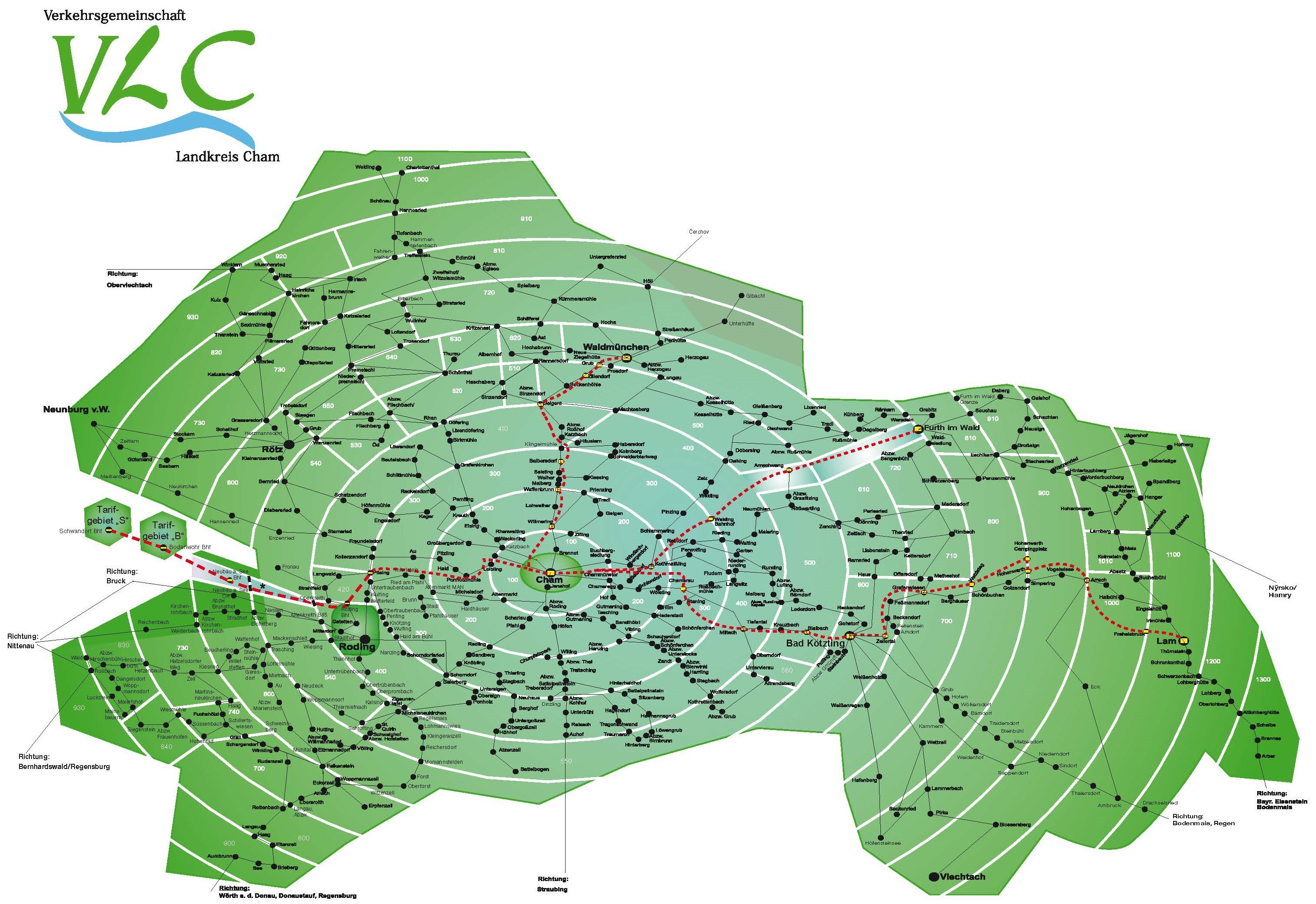 VLC Zonenplan
