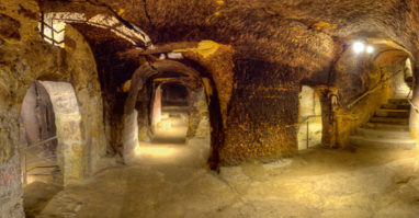 Schwandorf: Historischer Felsenkeller