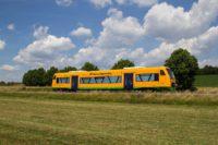 Triebwagen der oberpfalzbahn Regio-Shuttle