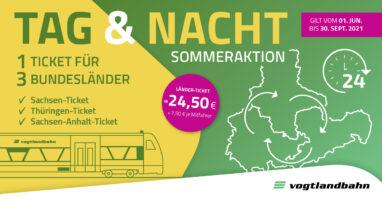 Sommeraktion mit dem Sachsen-Ticket