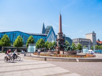 der Leipziger Augustusplatz
