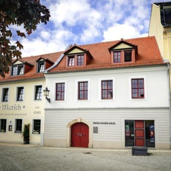 Erich-Ohser-Haus mit Galerie, Vater und Sohn Geschichten