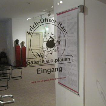 Eingang zum Museuem e.o.plauen
