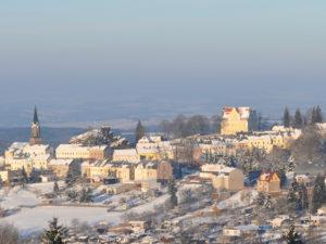 Winter in Schöneck - Stadtansicht