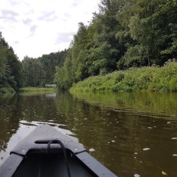 Bootstour auf der Weißen Elster