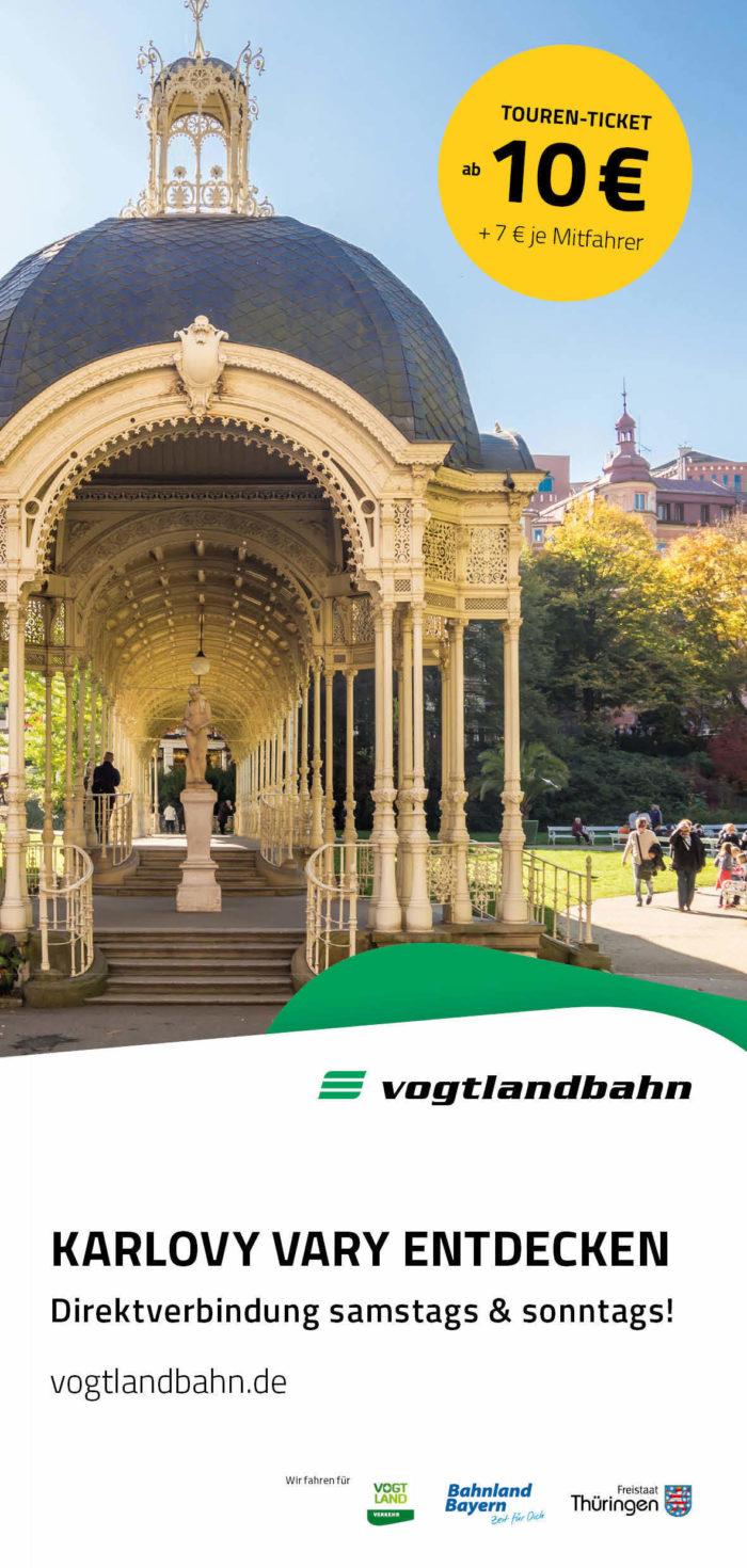 "Flyer ""Karlovy Vary entdecken"""