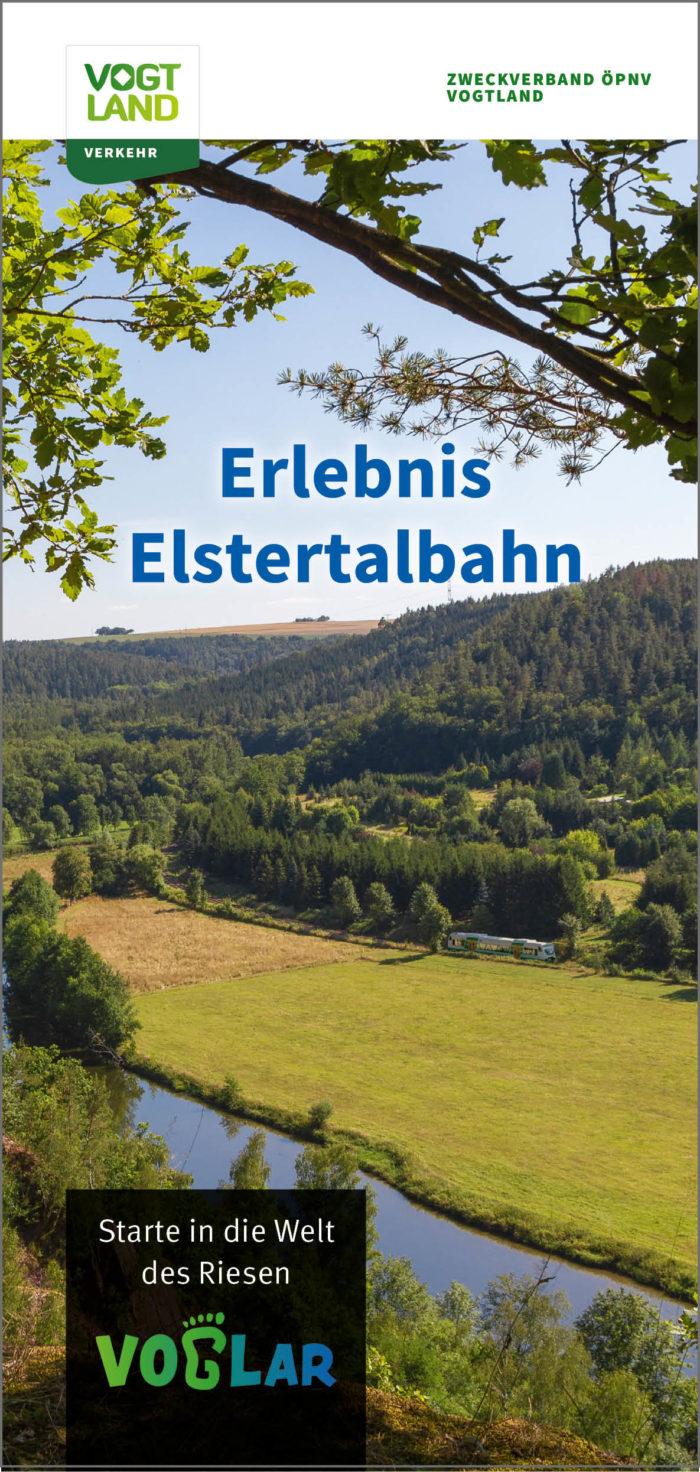 "Flyer ""Erlebnis Elstertalbahn"" | Ausgabe: 09/2020"