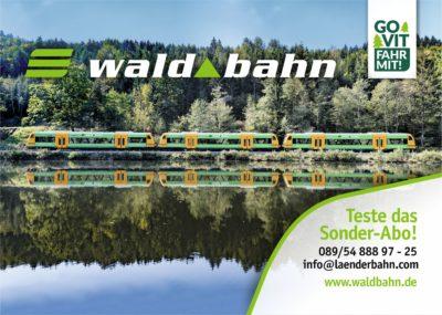 Sonderabo Gotteszell - Viechtach jetzt ab 3 Monaten vergünstigt waldbahn fahren