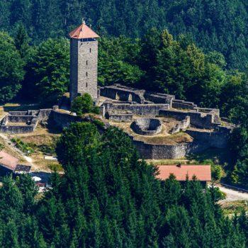 Burggelände von Altnussberg