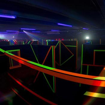 Die Lasertag Arena von Erlebnispark in Geiersthal