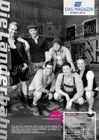 Titelseite des Kundenmagazins der Länderbahn im Herbst 2014