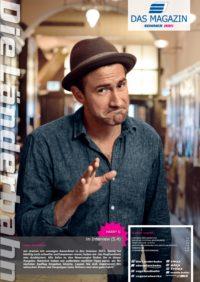 Titelseite des Kundenmagazins der Länderbahn im Sommer 2015