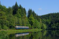 Die Wanderbahn fährt durch Bayerisch Kananda