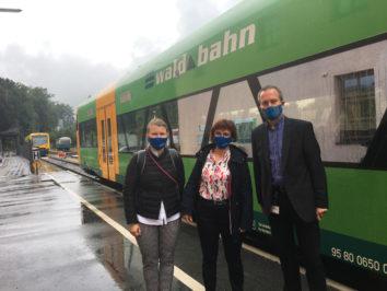 BEG-Geschäftsleitung zu Besuch bei der Länderbahn