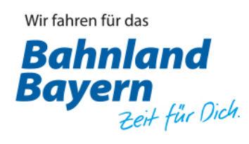Das Bahnland Bayern Logo